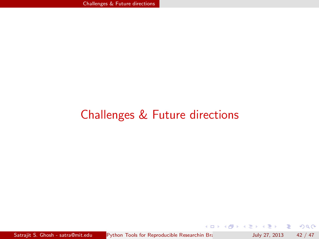 Challenges & Future directions Challenges & Fut...
