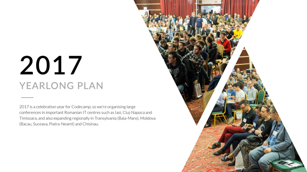 2017 YEARLONG PLAN 2017 is a celebration year f...