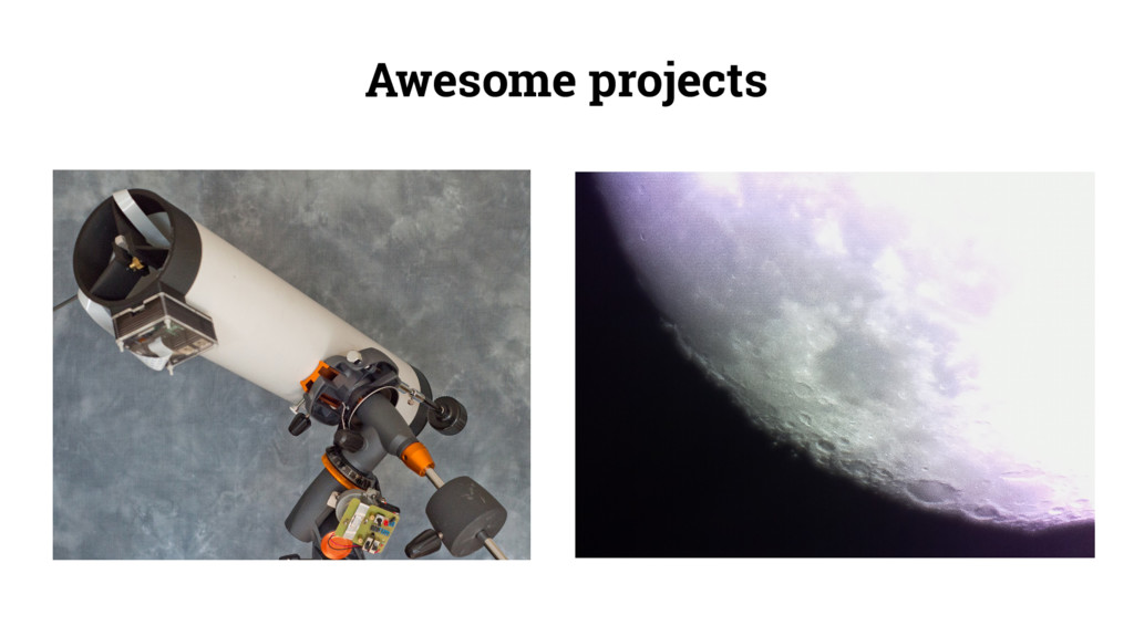 Awesome projects