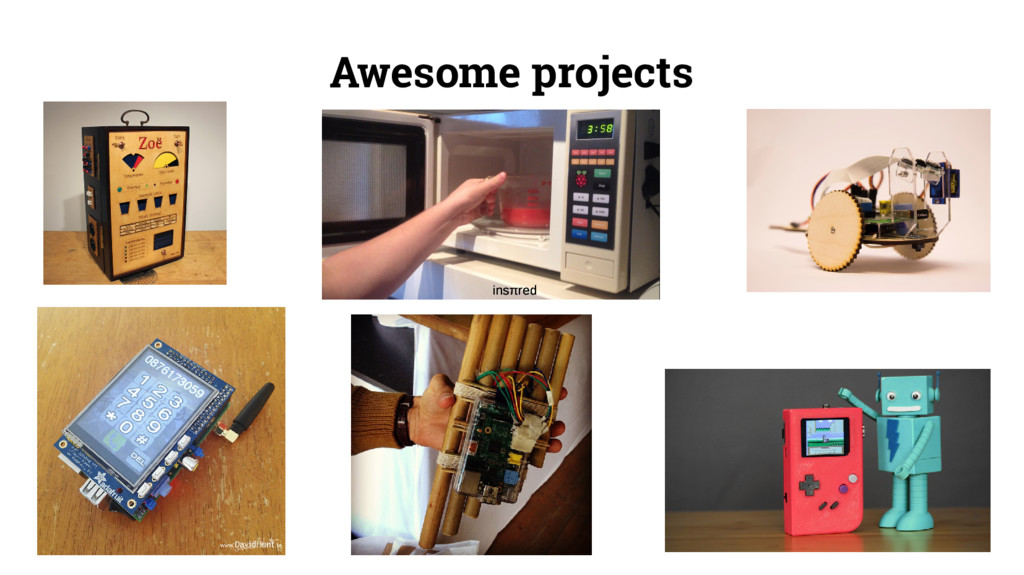 Awesome projects insπred insπred