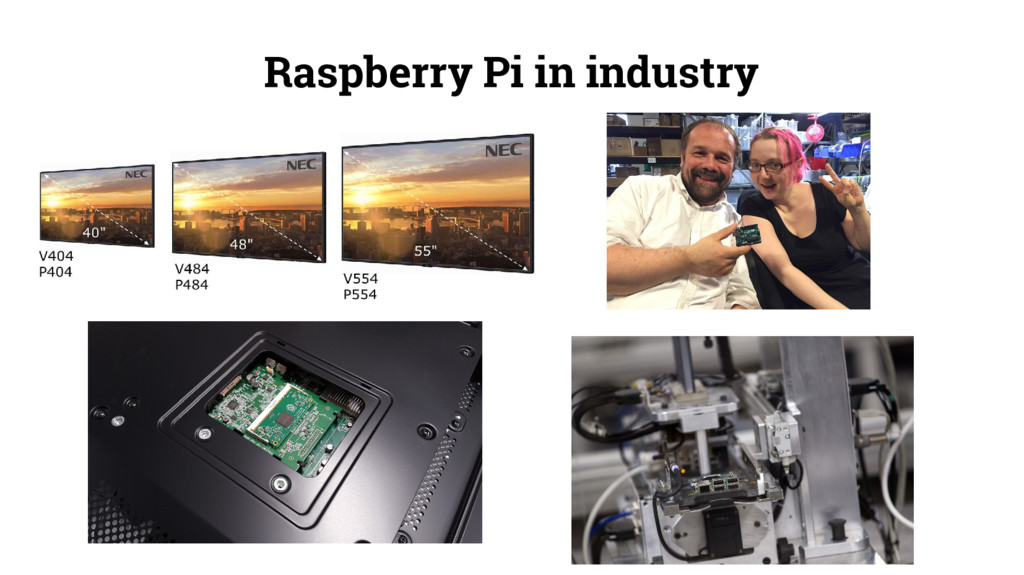 Raspberry Pi in industry