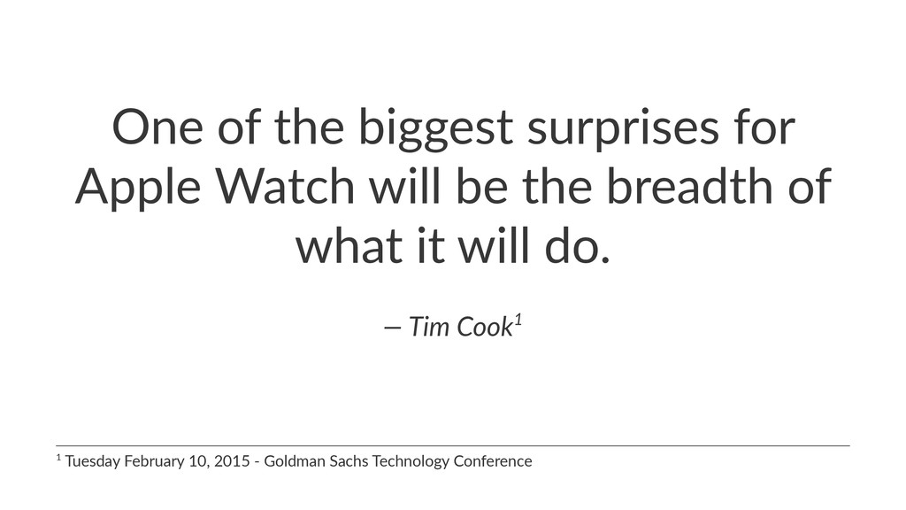 One$of$the$biggest$surprises$for$ Apple$Watch$w...