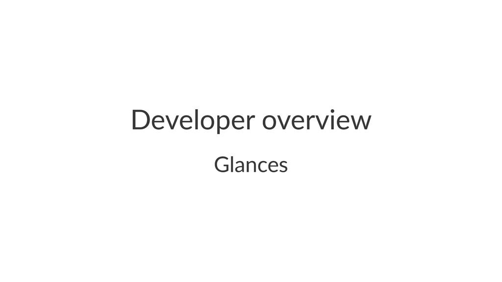 Developer(overview Glances