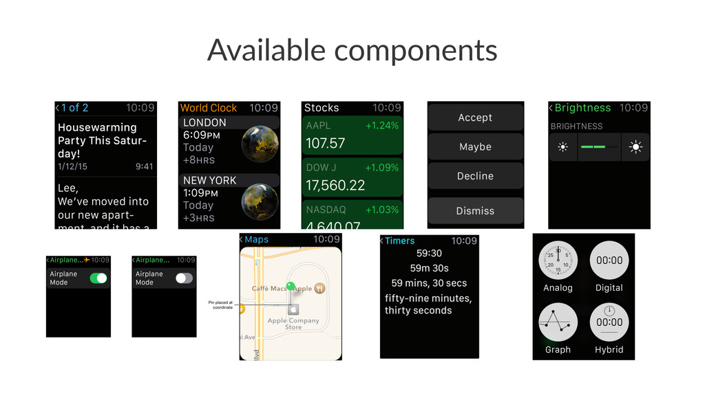 Available(components