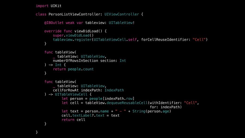 import UIKit class PersonListViewController: UI...