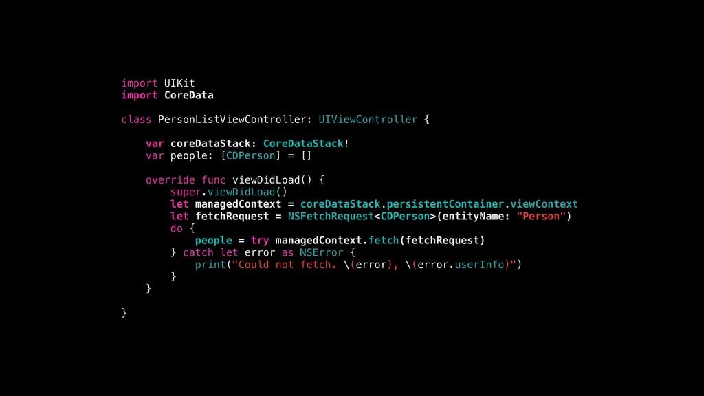 import UIKit import CoreData class PersonListVi...