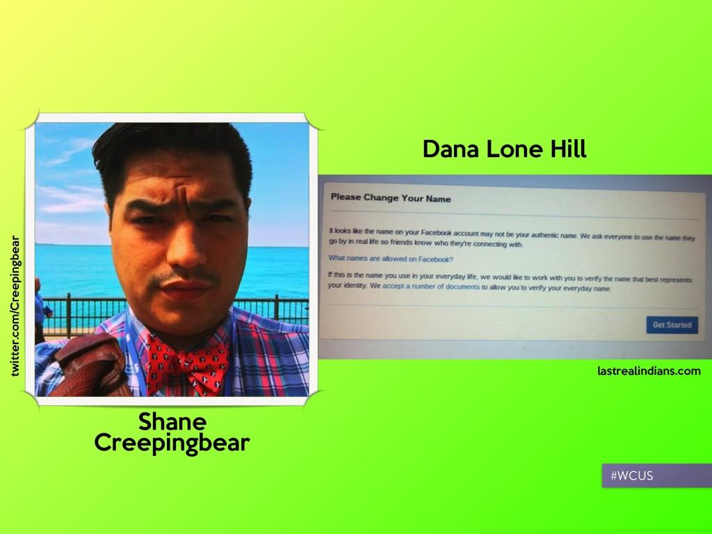 #WCUS Shane  Creepingbear Dana Lone Hill lastre...