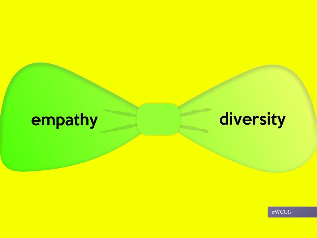 empathy diversity #WCUS