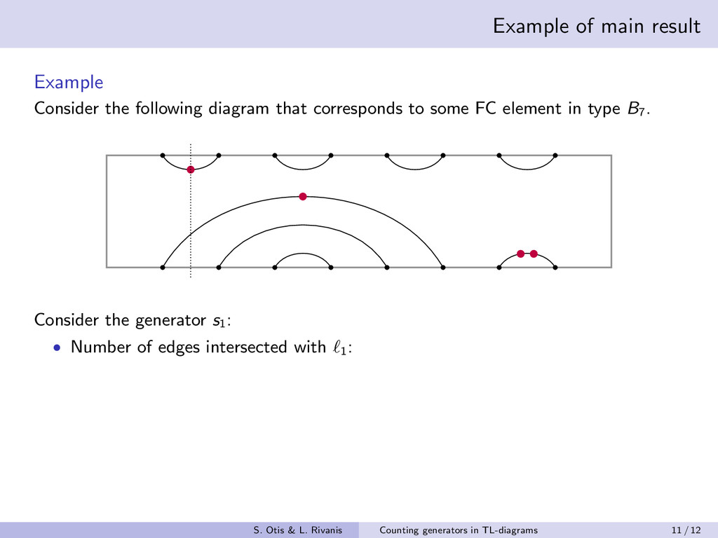 Example of main result Example Consider the fol...