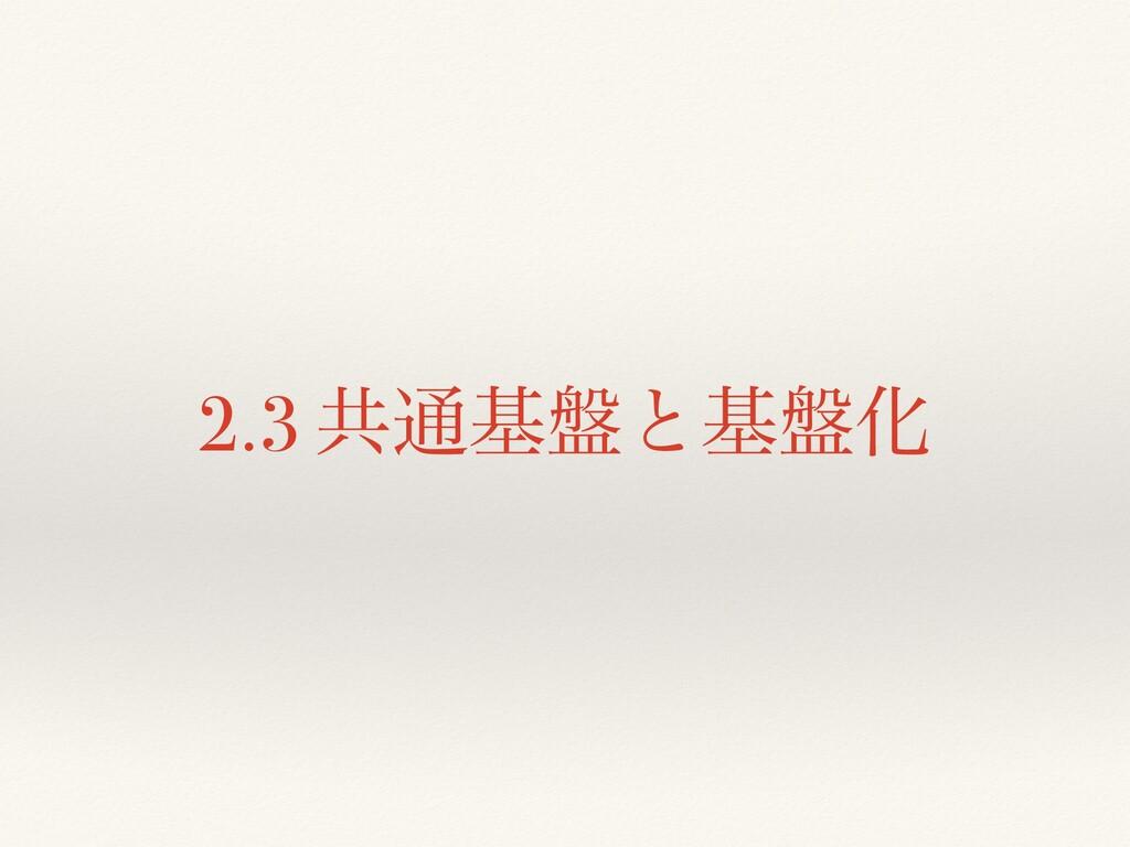 2.3 ڞ௨ج൫ͱج൫Խ