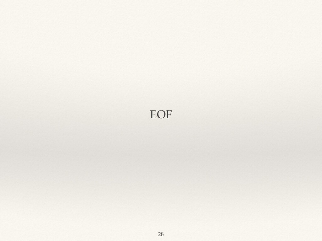 EOF 28