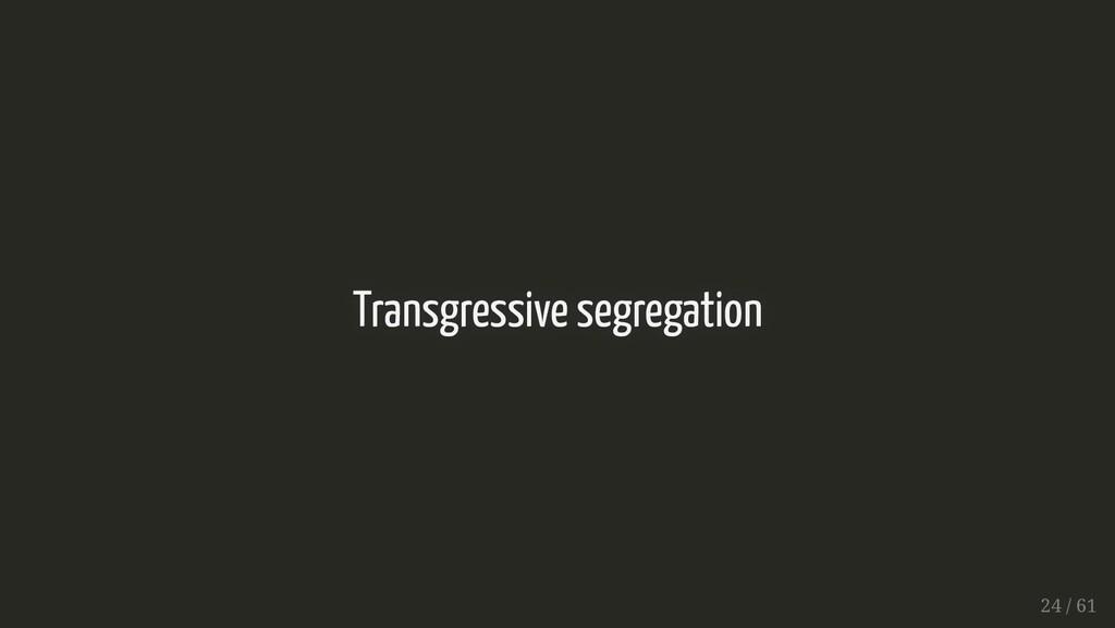 Transgressive segregation Transgressive segrega...