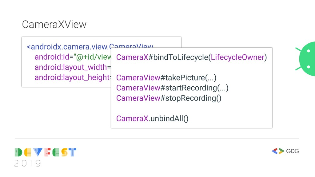 CameraXView <androidx.camera.view.CameraView an...