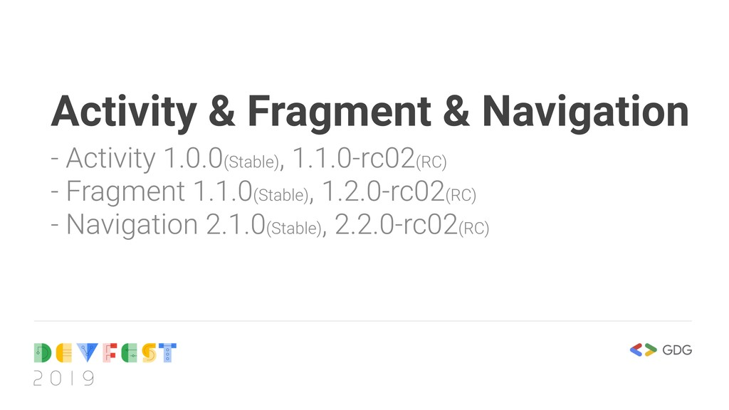 Activity & Fragment & Navigation - Activity 1.0...