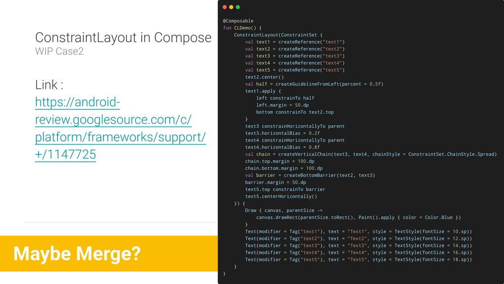 Maybe Merge? ConstraintLayout in Compose WIP Ca...