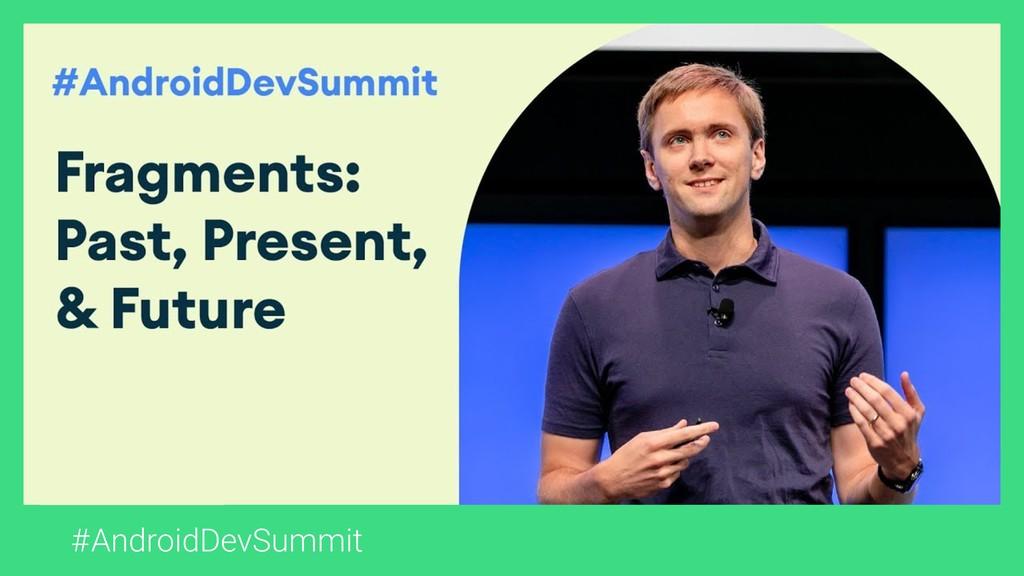 #AndroidDevSummit