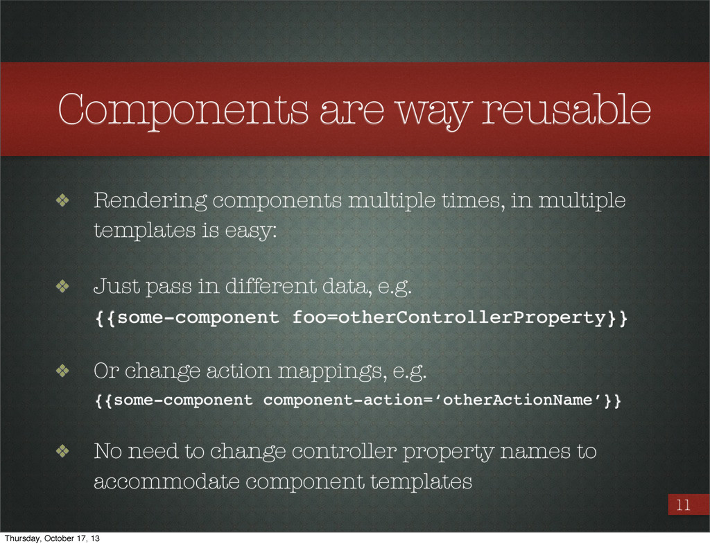 11 ❖ Rendering components multiple times, in mu...