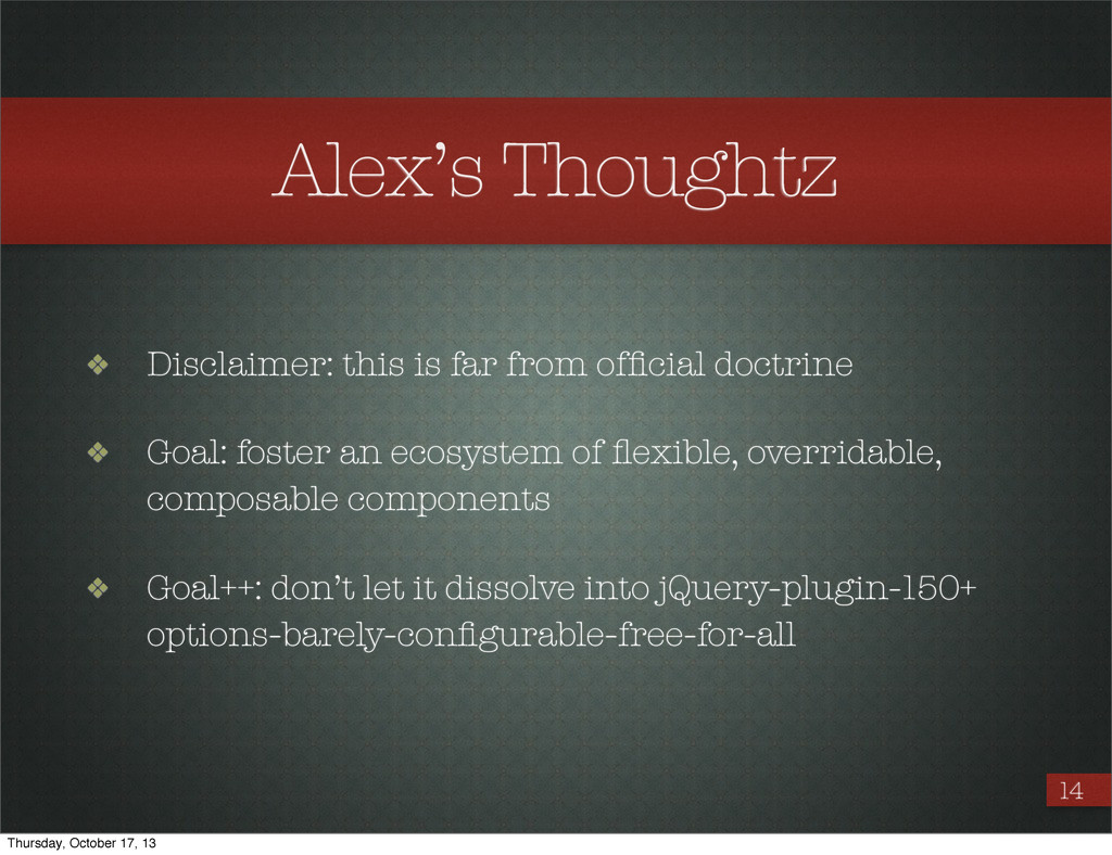 Alex's Thoughtz ❖ Disclaimer: this is far from ...