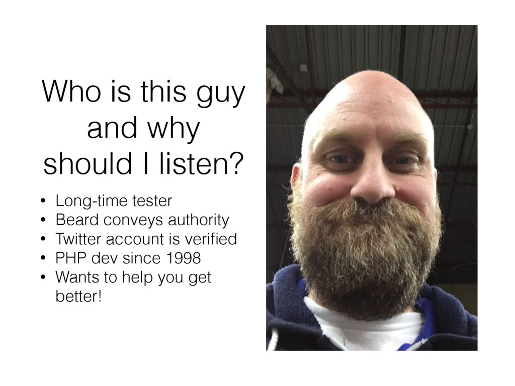 Who is this guy and why should I listen? • Long...