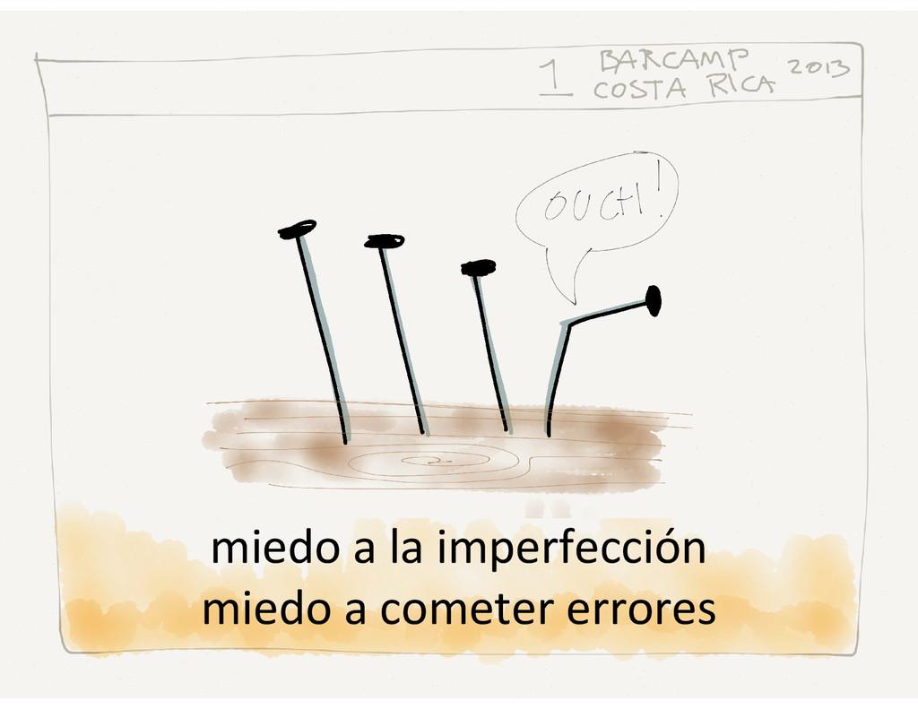 miedo a la imperfección miedo a cometer errores