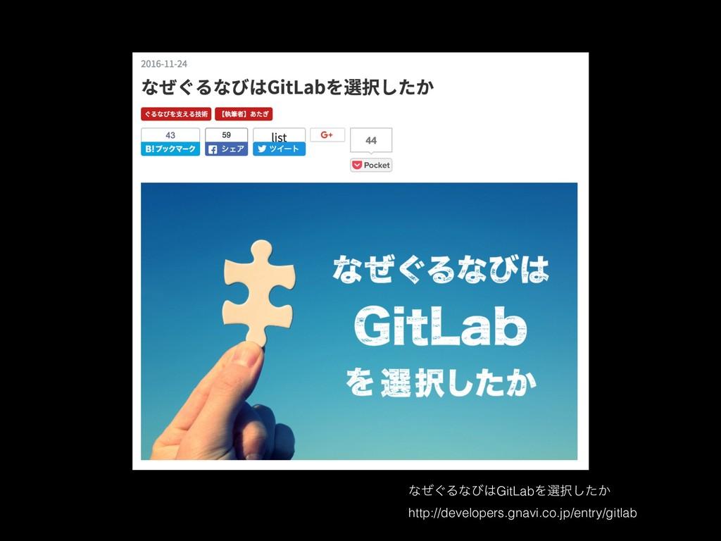 ͳ͙ͥΔͳͼGitLabΛબ͔ͨ͠ http://developers.gnavi.co....
