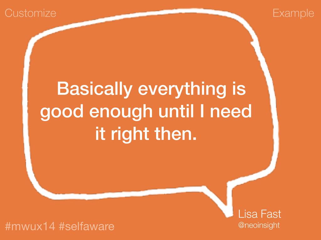 Example #mwux14 #selfaware Basically everything...