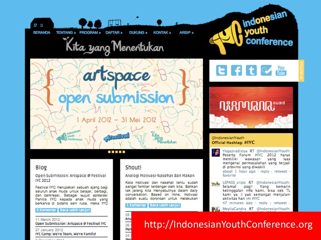 http://IndonesianYouthConference.org