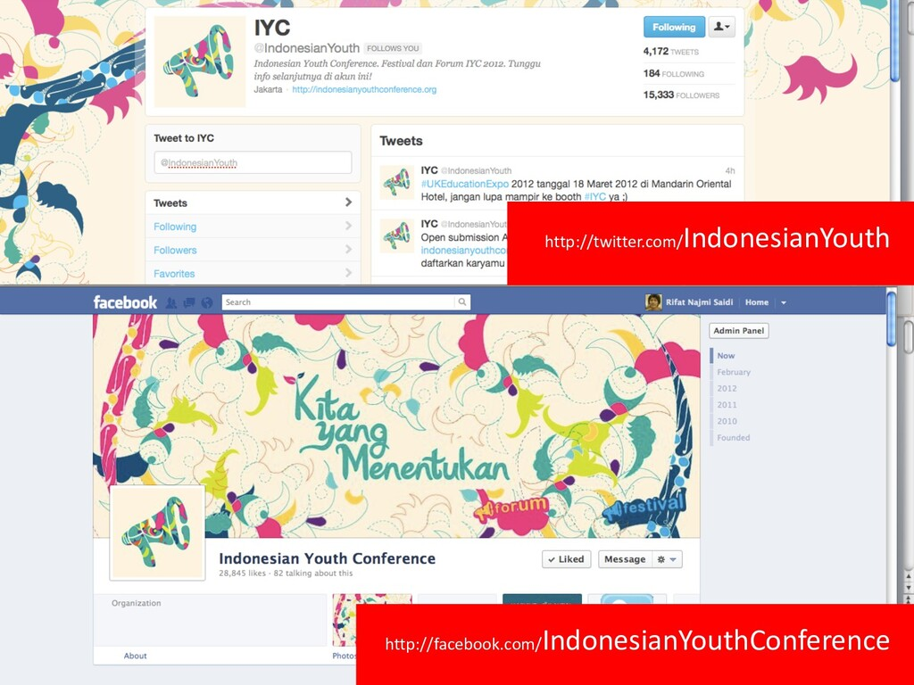 http://facebook.com/IndonesianYouthConference h...