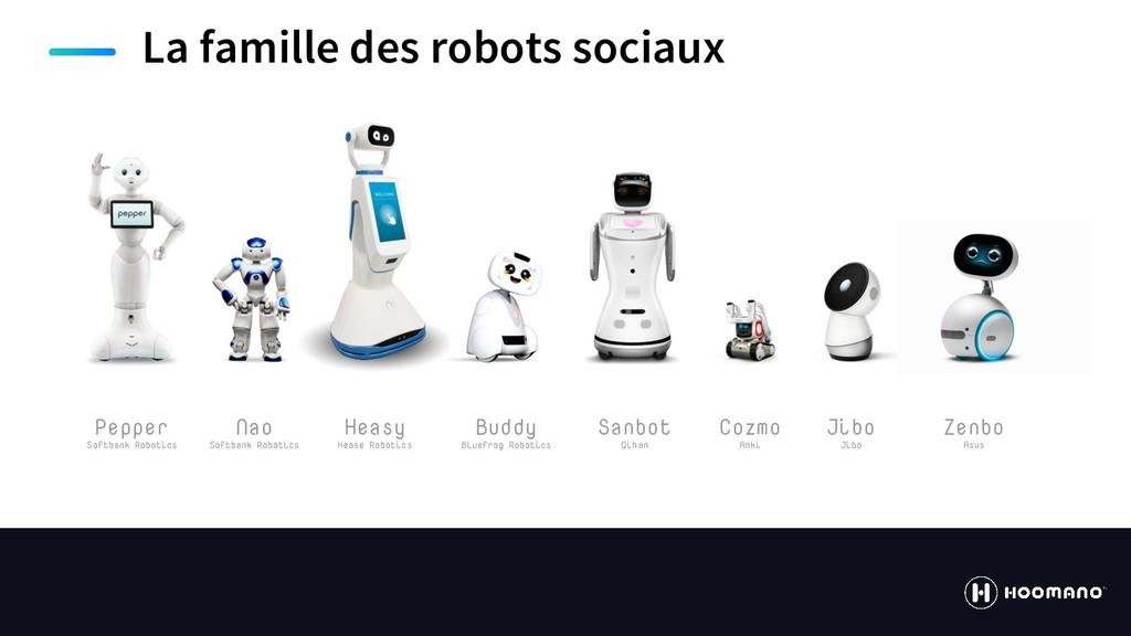 https://hoomano.com La famille des robots socia...