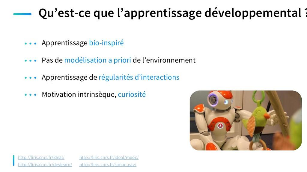 Qu'est-ce que l'apprentissage développemental ?...