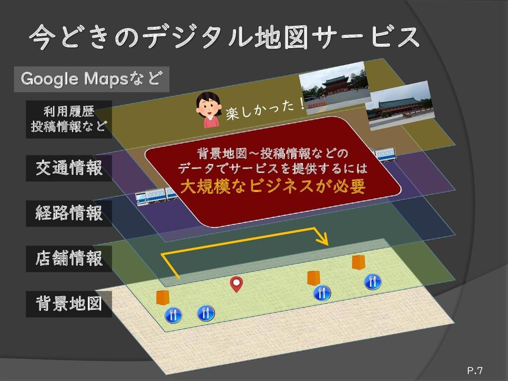 今どきのデジタル地図サービス Google Mapsなど 店舗情報 背景地図 交通情報 利用履...