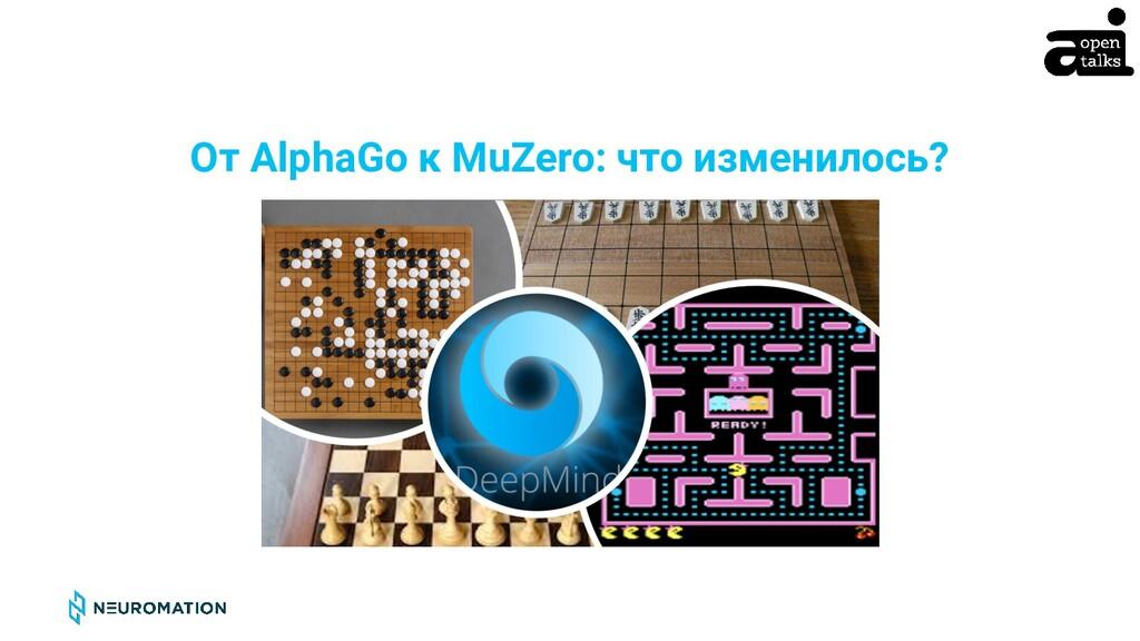 CONFIDENTIAL От AlphaGo к MuZero: что изменилос...