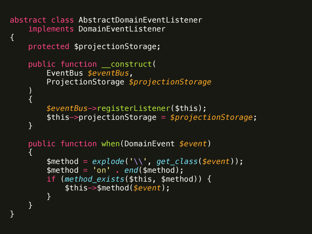 abstract class AbstractDomainEventListener impl...