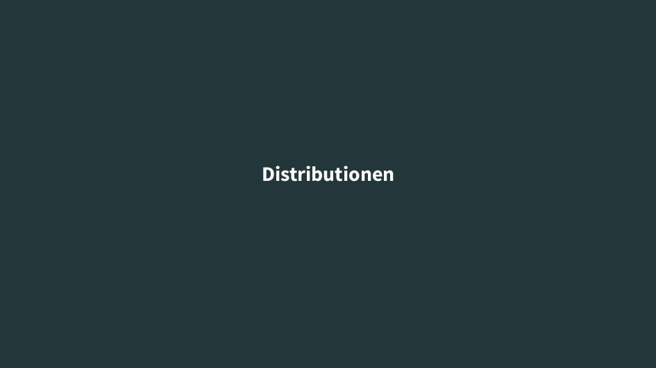 Distributionen