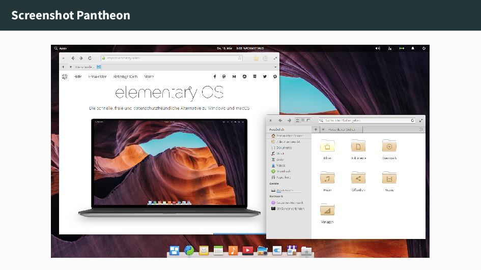 Screenshot Pantheon