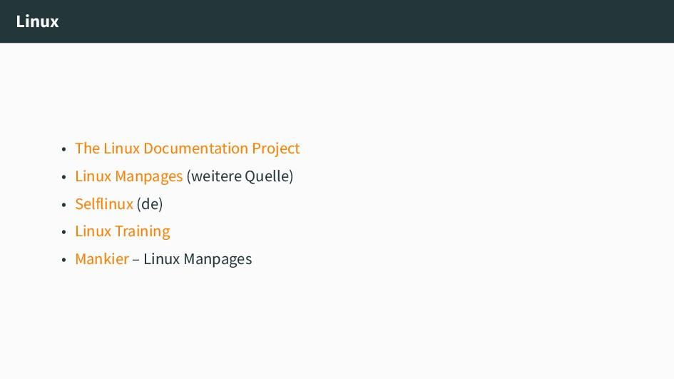 Linux • The Linux Documentation Project • Linux...