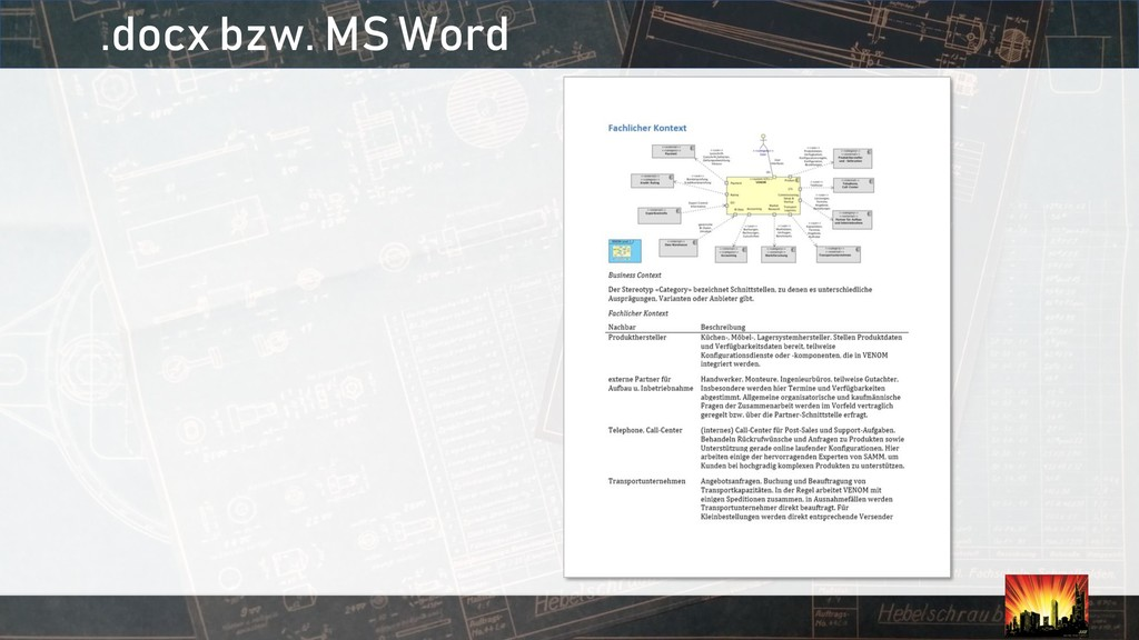.docx bzw. MS Word