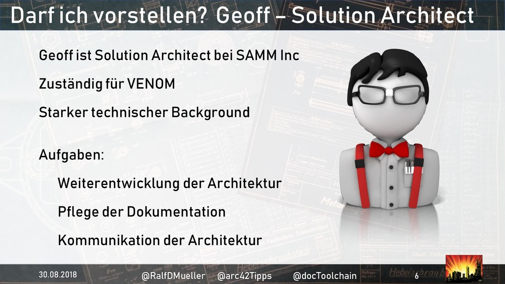 Darf ich vorstellen? Geoff – Solution Architect...