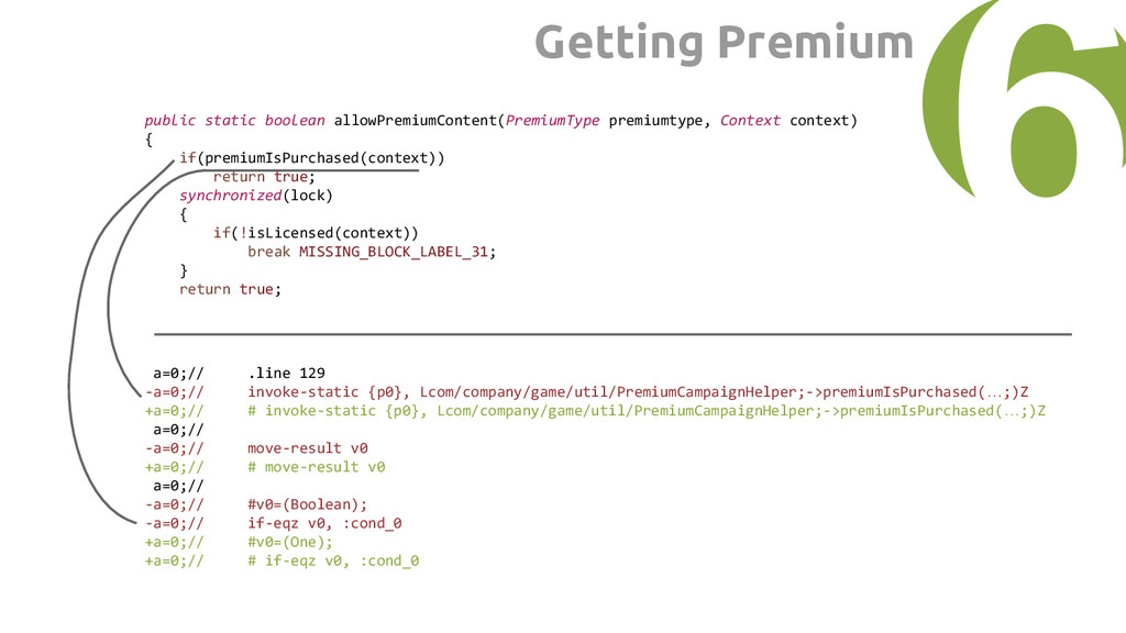public static boolean allowPremiumContent(Premi...