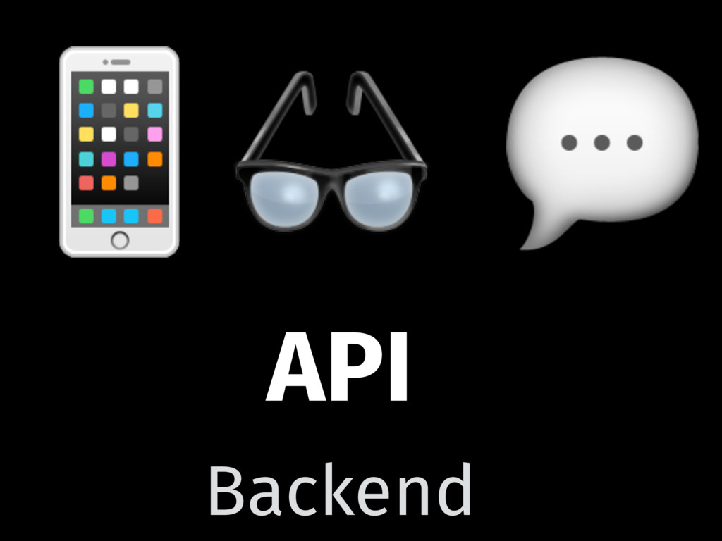 API   Backend