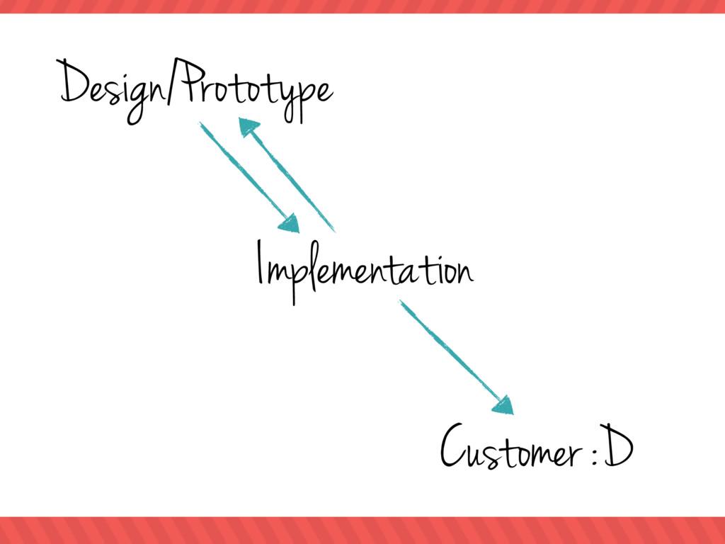 Design/Prototype Implementation Customer :D