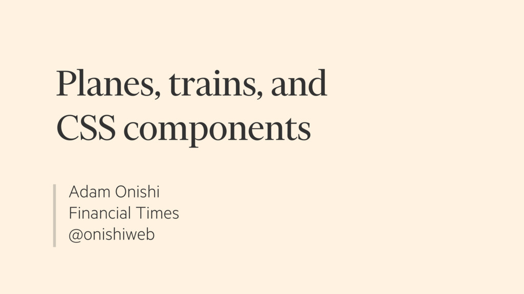 Adam Onishi Financial Times @onishiweb Planes, ...