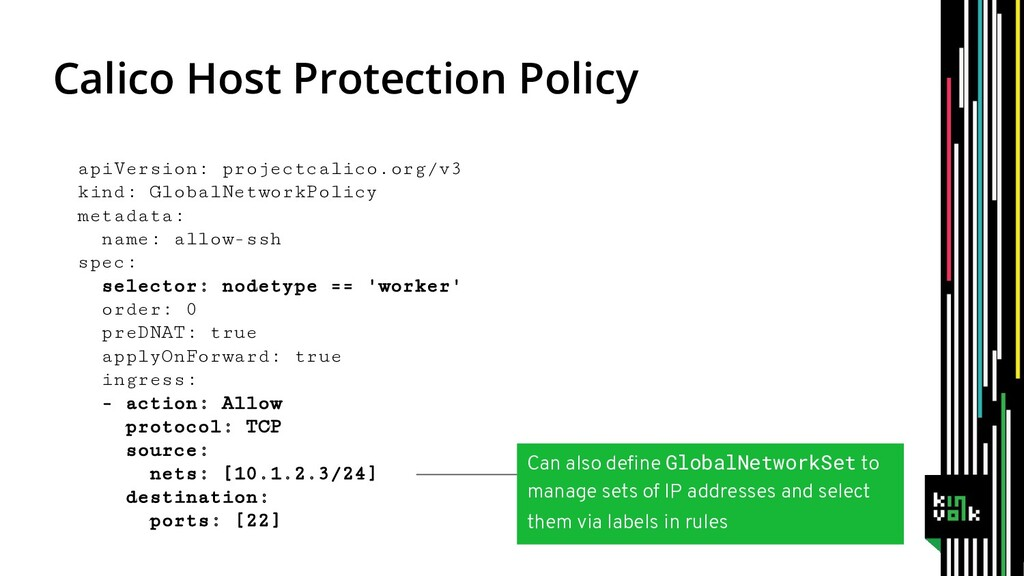 Calico Host Protection Policy apiVersion: proje...