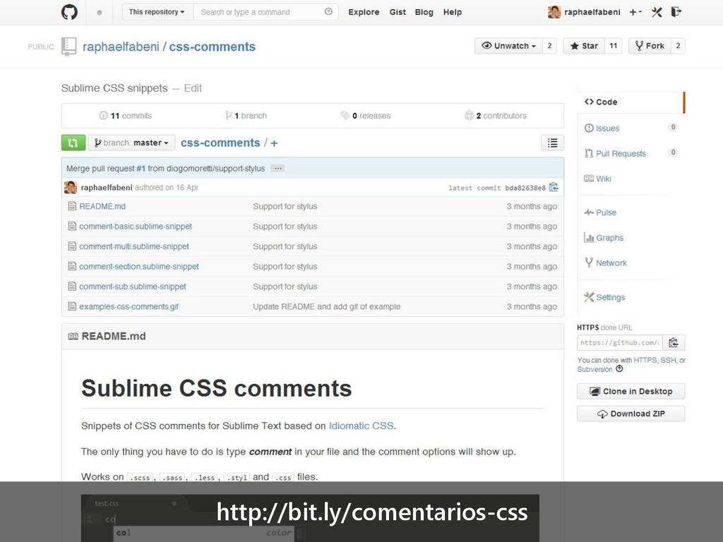 http://bit.ly/comentarios-css