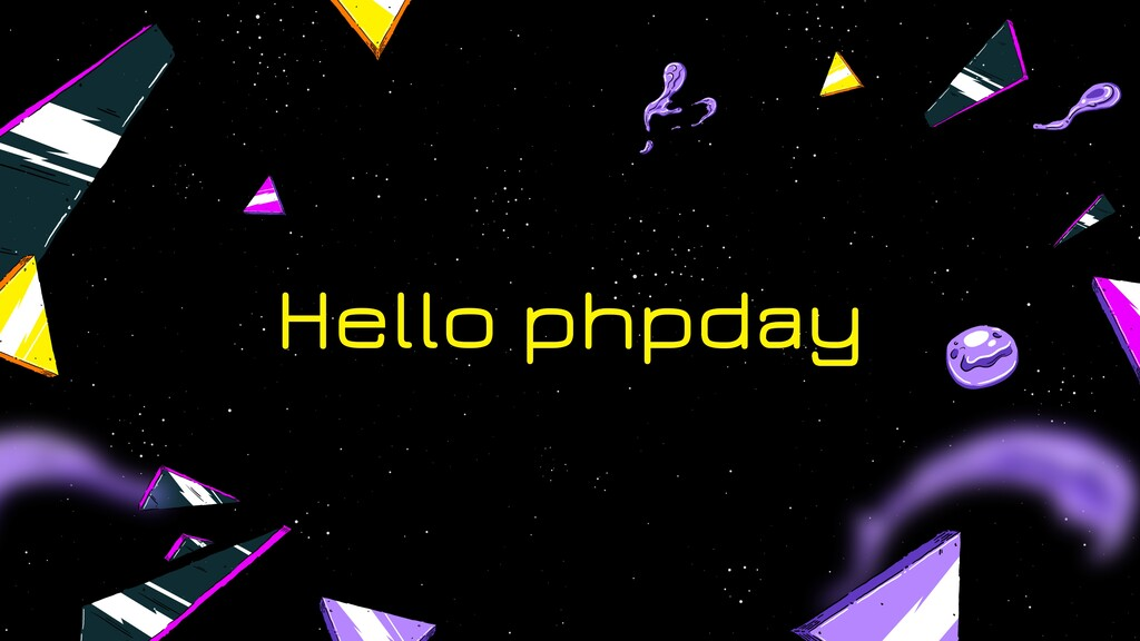 Hello phpday