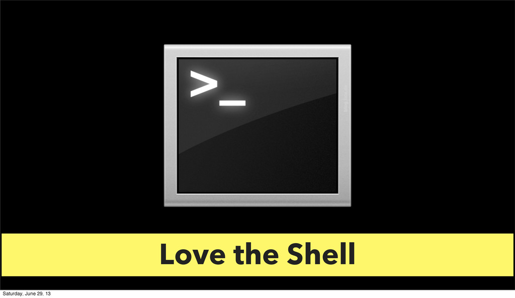 Love the Shell Love the Shell Saturday, June 29...