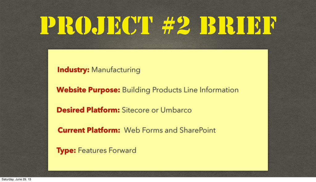 Text Industry: Manufacturing Website Purpose: B...