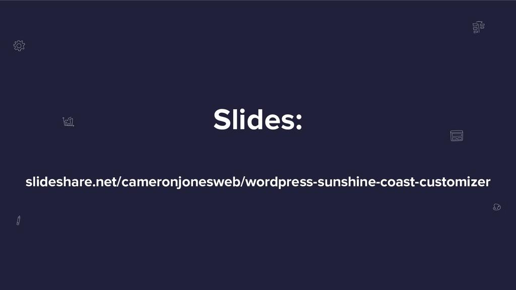 Slides: slideshare.net/cameronjonesweb/wordpres...