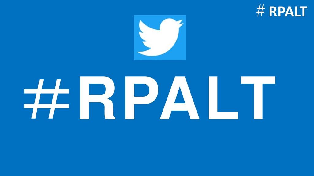 #RPALT #RPALT
