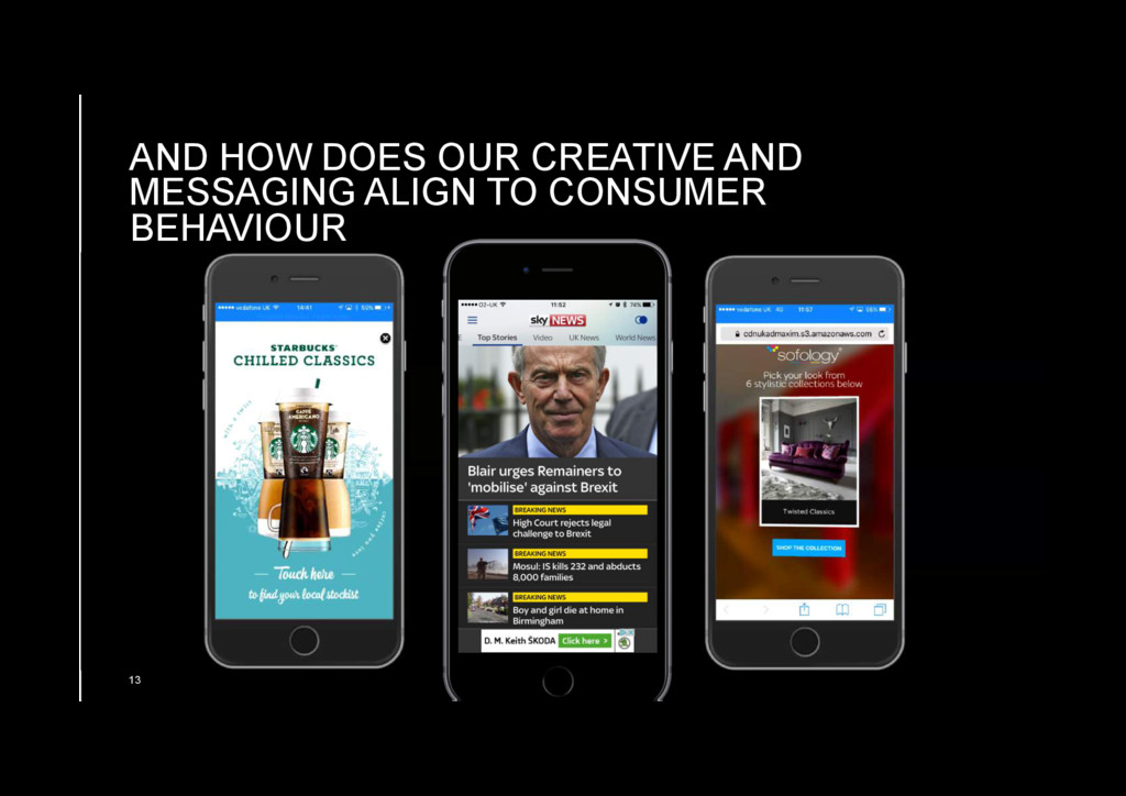 AND HOW DOES OUR CREATIVE AND MESSAGING ALIGN T...
